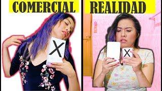 COMERCIAL vs REALIDAD 3 -  iPhone X Masha y el Oso Espuma de afeitar
