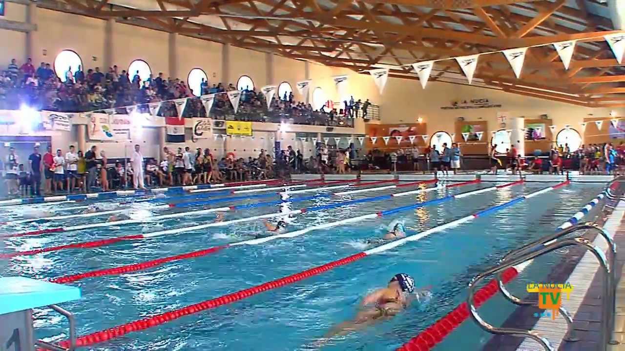 09 03 13 campeonato auton mico infantil de nataci n en for Piscina municipal camilo cano