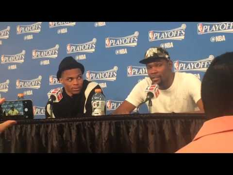 Durant on Mark Cuban Saying He's OKC's Only Superstar: He's an Idiot