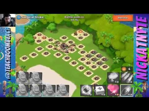 Boom Beach : Unlimited Crystals & Masterpieces : How To : Glitch / Cheat