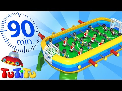 TuTiTu Specials | UEFA EURO 2016 Final | Foosball and Other Popular Toys for Children | 90 Minutes!