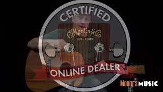 The Martin DXK2AE at Maury's Music!