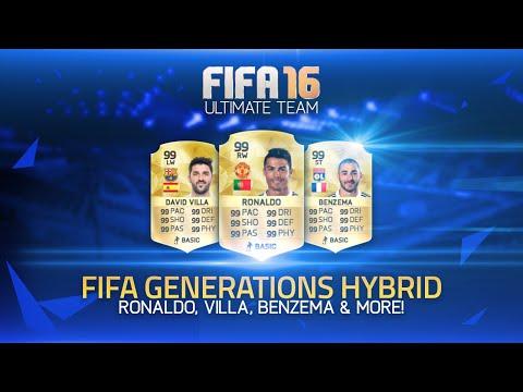 MAN UTD RONALDO. BENZEMA. VILLA & MORE! - FIFA GENERATIONS HYBRID!   FIFA 07 ULTIMATE TEAM