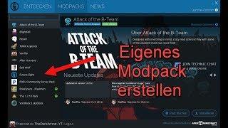 Categories Video Minecraft Modpack Erstellen - Minecraft server erstellen mit modpack
