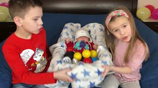 Are You Sleeping Brother John Kids playing  LITTLE BROTHER Educational video for kids