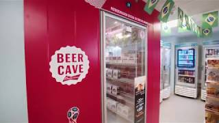 BEER CAVE BUDWEISER