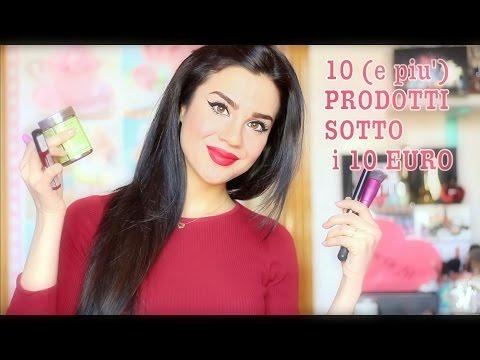 10 (e più) prodotti SOTTO i 10 EURO! Make up e non solo ♡