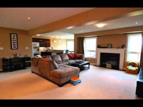 Newer open concept home on larger lot oshawa on real for Concept homes