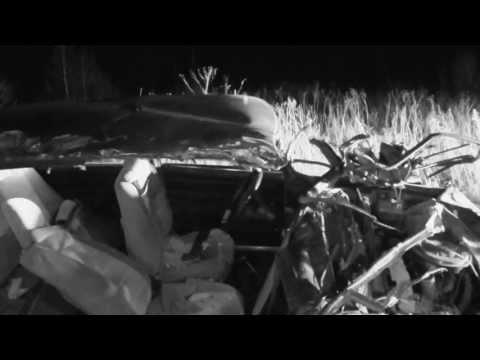 Ночное нападение танка на жигули