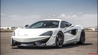 LOUDEST McLaren 570S ever w/ Straight Piped exhaust - Acceleration and crackles