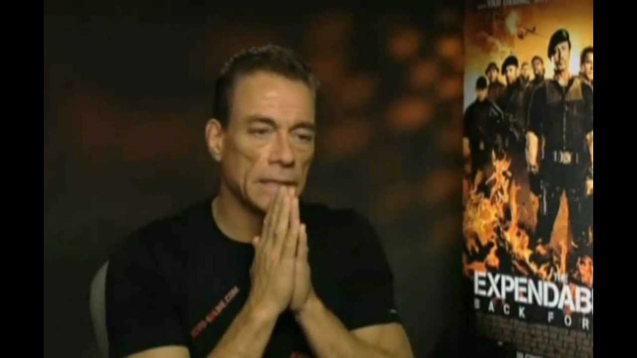 van damme good words about steven seagal expendables 3