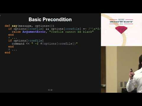 Ruby Midwest 2011 Confident Code By Avdi Grimm video