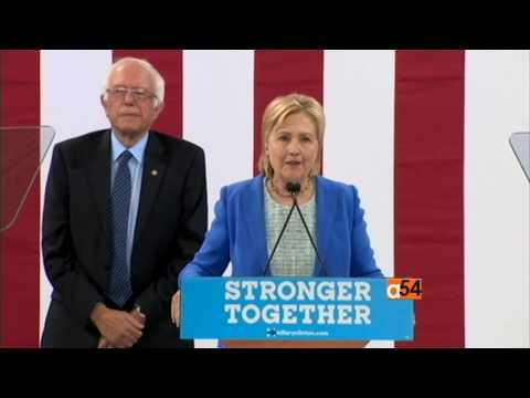Bernie Sanders Endorses Hillary Clinton In U.S. Presidency Race