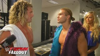 Heated confrontation between Dolph Ziggler and Tyler Breeze: Raw Fallout, December 8, 2015