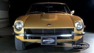 Nissan 370 Z (2011) & Datsun 240 Z (1971) with ORIGINAL Z Car Designer, Yoshihiko Matsuo