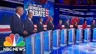Watch Closing Statements Of The Democratic Debate's First Night | NBC News