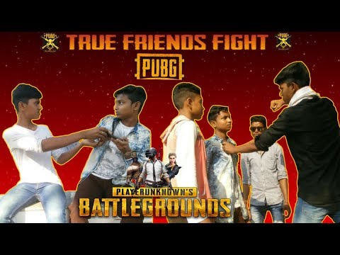 True Friends Fight On PUBG| Top Funny Village Comedy Video | WhatsApp Video | BLACK WORLD