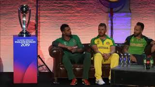 CWC 2019 All Captains Press Conference - CLEAR AUDIO