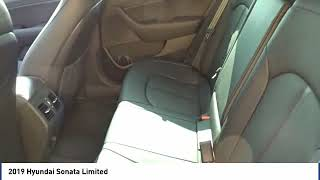 2019 Hyundai Sonata Limited New 19H0121