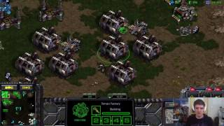 [Sick Game] StarCraft Remastered 1v1 Artosis' Games of SC:R (T) vs mr.cow (P) Fighting Spirit