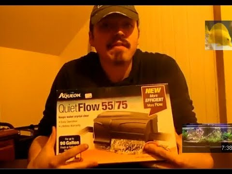 Aqueon Quite Flow 55/75 Unboxing Product Review
