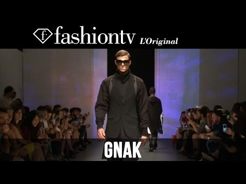 D. Gnak Men Spring summer 2015 | Milan Men's Fashion Week | Fashiontv video