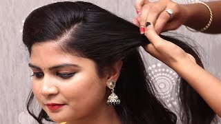 5 Different hairstyles for long Hair || Everyday hairstyles for College Girls || Hair style girl