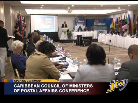 PRESS OPENING CEREMONY CARIBBEAN COUNCIL OF MINISTERS OF POS