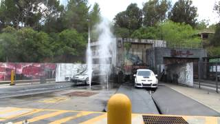 Universal Studios Hollywood Fast and the Furious cars