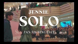 JENNIE - 'SOLO' FAN SIGNING DAY
