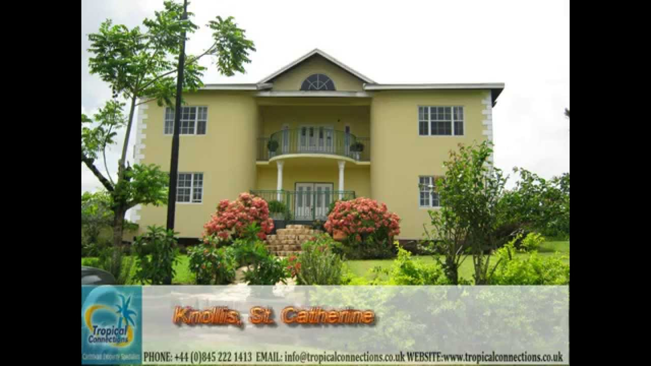 House for sale in knollis st catherine jamaica youtube for Catherines house