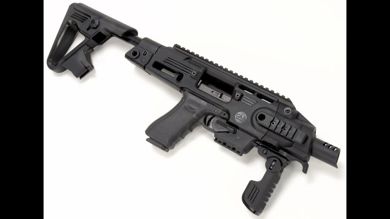 Review CAA TACTICAL RONI G1 GLOCK - YouTube