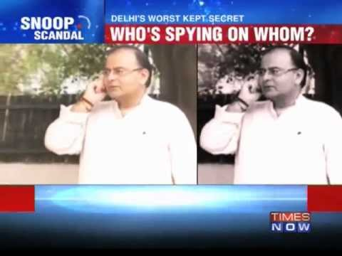 Arun Jaitley's phone row exposes spying ring.