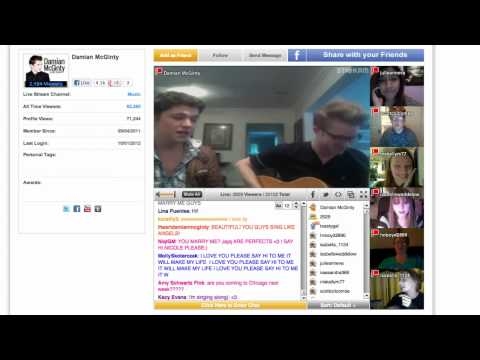 Damian McGinty & Cameron Mitchell cover The Oscar winning song Falling Slowl