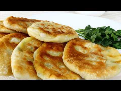 ПИРОЖКИ-ЛЕПЕШКИ с картошкой на КЕФИРЕ или ПРЕСНУШКИ, просто,но так вкусно!