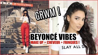 Total Look Beyoncé + Demie queue avec extensions !