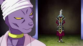 Beerus Finds Out Frieza Was Defeated English Dub