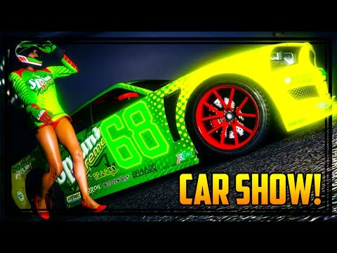 GTA 5 Online - 'SPRUNK BUFFALO & CONTENDER'' CAR SHOW! (PS4)