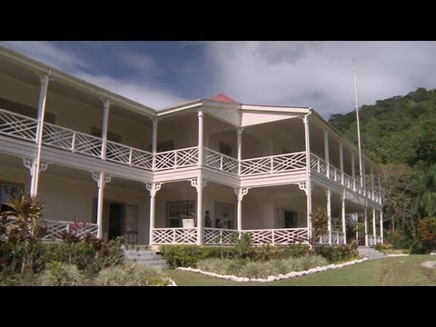 Robert Louis Stevenson Museum Samoa 2013, Travel Video Guide