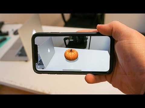 Top 3 iPhone X Apps! (Augmented Reality)