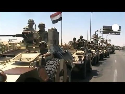 Mueren al menos seis supuestos terroristas en choques con fuerzas egipcias en el Sinaí