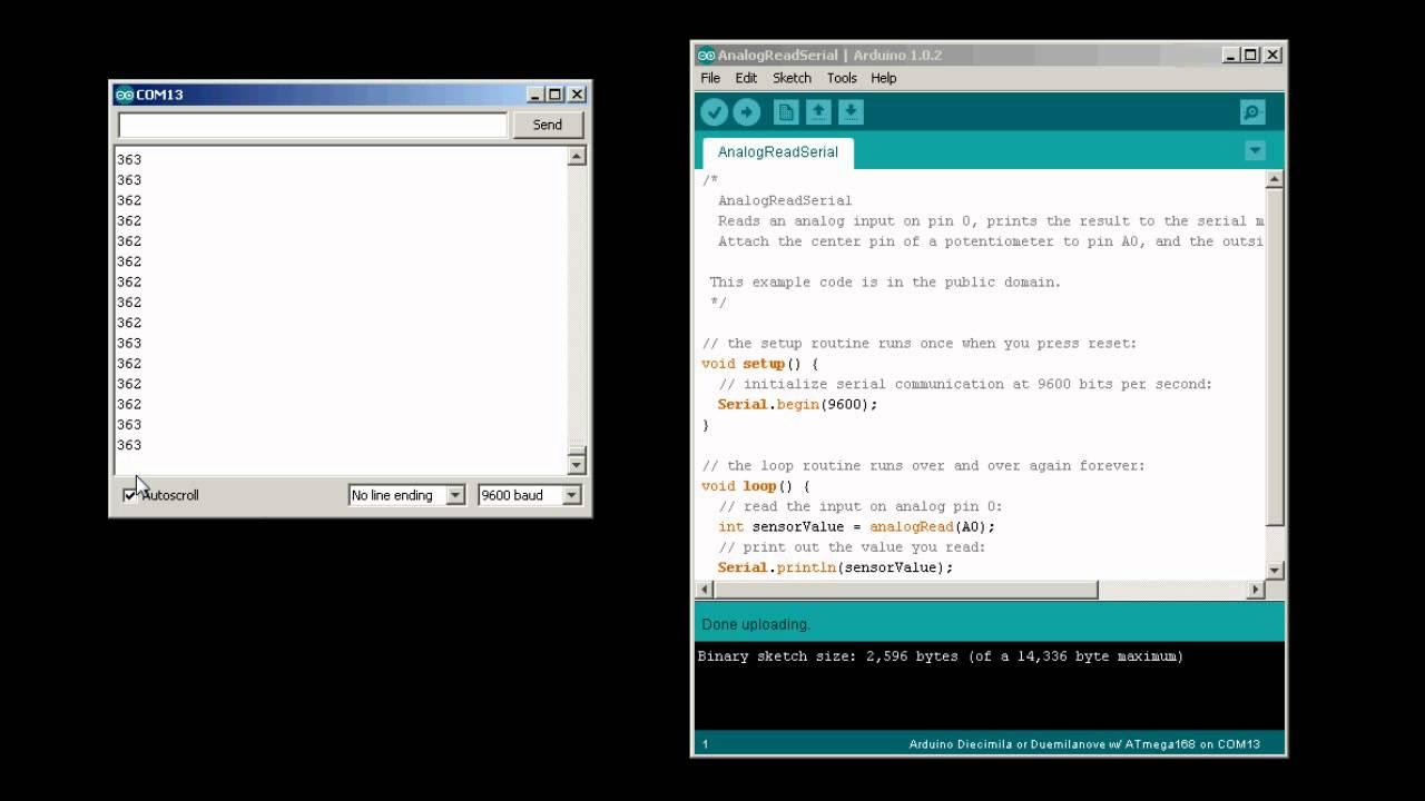 Tutorial/SerialEvent - Arduino - Home