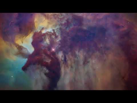 Lagoon Nebula Zoom and Flythrough