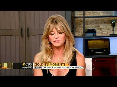 Goldie Hawn on movies and motherhood