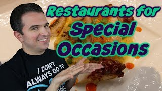 Best Disney World Restaurants for Special Occasions