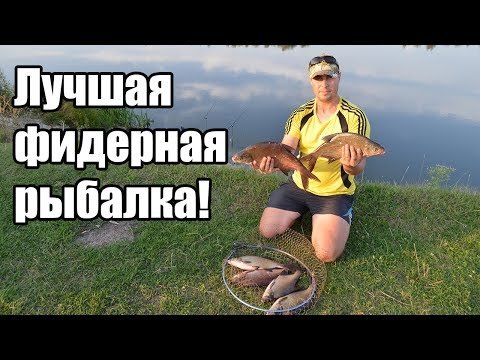 ловля на фидер на реке осенью видео