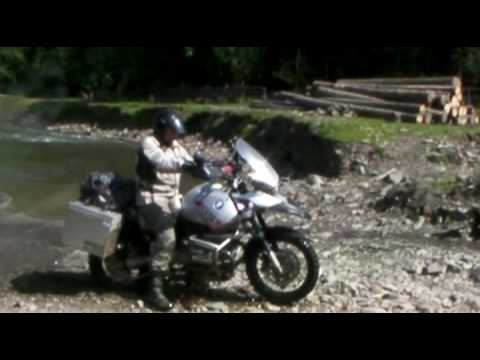 Part 3/4 - Ukraine - The Carpathian mountains - Motorbike Travel