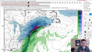 Tuesday AM Update on Thursday, Weekend Snow