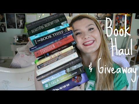 Book Haul & Giveaway | LaLaLauren1001 [Closed]