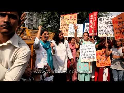 Delhi seethes in anger over child rape